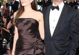 Angelina Jolie mit Brad Pitt