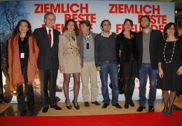 Eröffnung der 11. Französischen Filmwoche - v.l.:...orin)