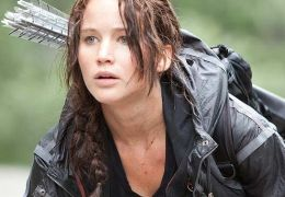 Jennifer Lawrence als Katniss Everdeen