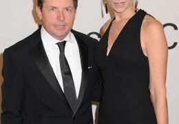 Michael J. Fox mit Tracy Pollan