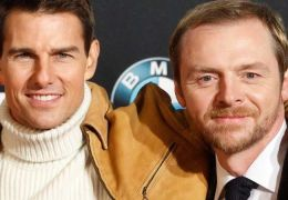 Tom Cruise mit Simon Pegg
