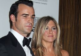 Justin Theroux mit Jennifer Aniston