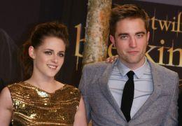 Kristen Stewart mit Robert Pattinson