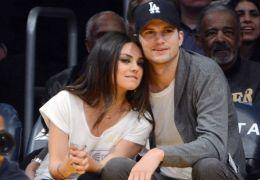 Ashton Kutcher und Mila Kunis