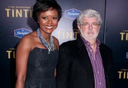Mellody Hobson mit George Lucas