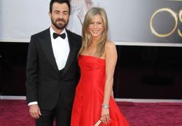 Jennifer Aniston mit Justin Theroux