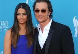 Matthew McConaughey mit Camila Alves