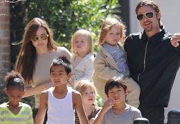 Angelina Jolie, Brad Pitt und ihre Kinder