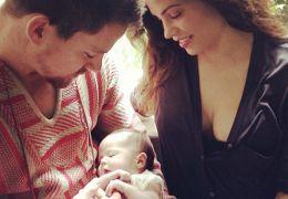 Channing Tatum mit Jenna Dewan-Tatum und Tochter Everly