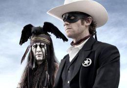 Johnny Depp und Armie Hammer in 'Lone Ranger'
