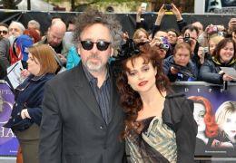 Tim Burton mit Helena Bonham Carter