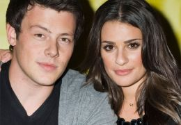 Cory Monteith mit Lea Michele