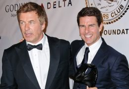Alec Baldwin mit seinem 'Rock of Ages'-Co-Star Tom Cruise