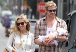 Chris Hemsworth mit Familie