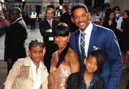 Will Smith, Willow Smith, Jaden Smith und Jada...Smith