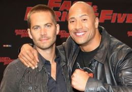 Paul Walker mit Dwayne Johnson