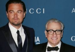 Leonardo DiCaprio mit Martin Scorsese