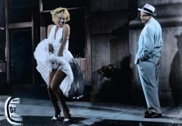 Das verflixte 7. Jahr - Tom Ewell und Marilyn Monroe...Dress