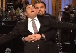 Jonah Hill und Leonardo DiCaprio, Saturday Night Live 2014