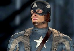 Chris Evans als 'Captain America'