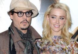 Johnny Depp mit Amber Heard
