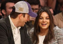 Ashton Kutcher mit Mila Kunis