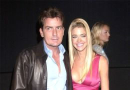 Charlie Sheen mit Denise Richards