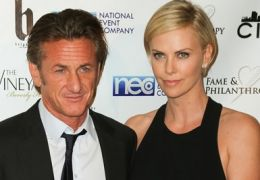 Sean Penn mit Charlize Theron