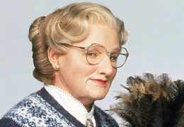 Robin Williams als 'Mrs Doubtfire'
