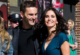 Johnny McDaid und Courteney Cox