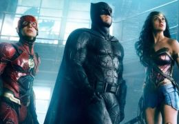 Justice League mit Ezra Miller als The Flash, Ben...Woman