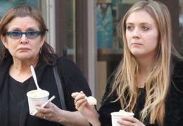 Carrie Fisher und Billie Lourd
