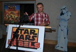 Chris Wolff spricht Sturmtruppler in Star Wars Rebels