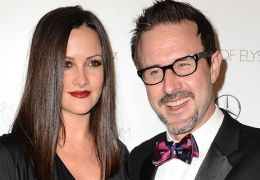 Christina McLarty mit David Arquette