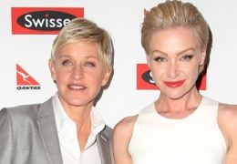 Ellen DeGeneres mit Portia de Rossi
