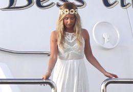 Ashley Tisdales Hochzeitsfoto 'Sie sah aus wie ein Engel'