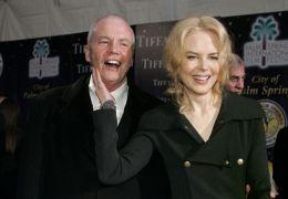 Dr. Anthony Kidman und Tochter Nicole Kidman,