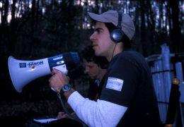 Eli Roth 2002 bei den Dreharbeiten zu 'Cabin Fever'