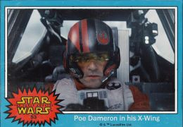 'Star Wars: Das erwachen der Macht' - Sammelkarte Poe...Wing!