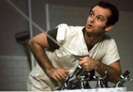 Jack Nicholson in Einer flog über das Kuckucksnest