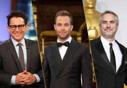 JJ Abrams, Chris Pine und Alfonso Curarón...ungen