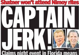 Daily News Schlagzeile: Captain Jerk