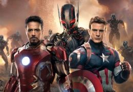 Avengers: Age of Ultron mit Robert Downey Jr und...Evans
