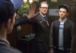 Kingsman mit Colin Firth und Taron Egerton