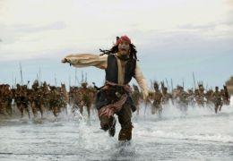 Johnny Depp in Fluch der Karibik 2