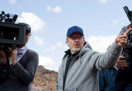 Ridley Scott bei den Dreharbeiten zu Exodus: Gods and Kings