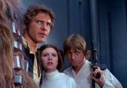 Krieg der Sterne mit Harrison Ford, Carrie Fisher und...amill