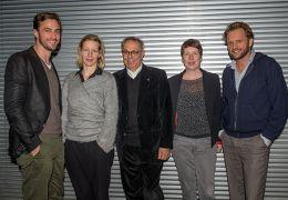 Die Jurymitglieder Martin Heisler und Sandra Hüller...Haeb