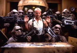 The Fifth Element mit Bruce Willis