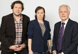 Das neue TATORT-Team: Hans-Jochen Wagner, Eva Löbau...v.l.)